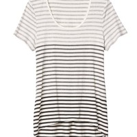 Athleta Womens Striper Tee
