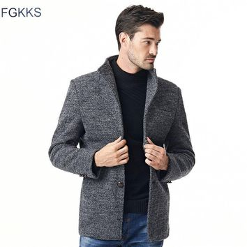 Autumn Winter Jackets For Men Slim Plus Size 5XL Wind Breaker Mens Jackets And Coats