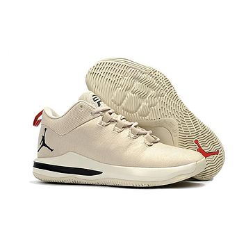 Beauty Ticks Jordan Chris Paul Cp3 X Ae Mens Basketball Shoe - Beige Color