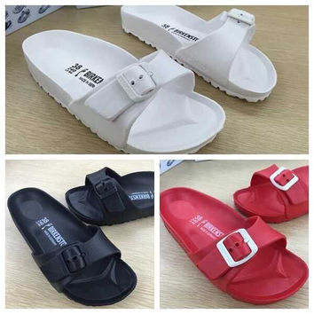 Multicolor Birkenstock like Waterproof Classic Sandals Size 36-41 for Women on Sale [5013001924]