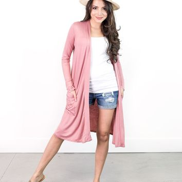 Emily Lightweight Duster Cardigan