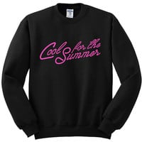 "Demi Lovato ""Cool For The Summer"" Crewneck Sweatshirt"