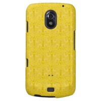 Yellow Decorative Galaxy Nexus Covers