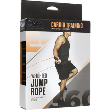 Grey Weighted 227g Jump Rope - Sports Accessories - Activewear - Women - TK Maxx