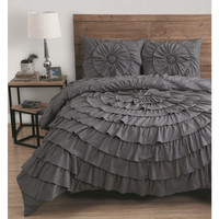 Avondale Manor Sadie 3-piece Comforter Set | Overstock.com Shopping - The Best Deals on Comforter Sets