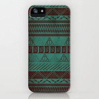 Harry Potter Tribal Print iPhone Case by Emily Blood | Society6