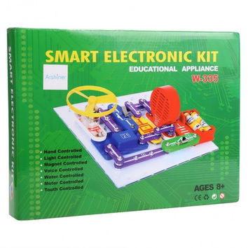 W-335 DIY Circuits Smart Electronic Discovery Kit Educational Appliance