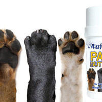 Paw Butter for Dry, Rough Dog Paw Pads Twist up Tube BIG 2 oz Balm Salve