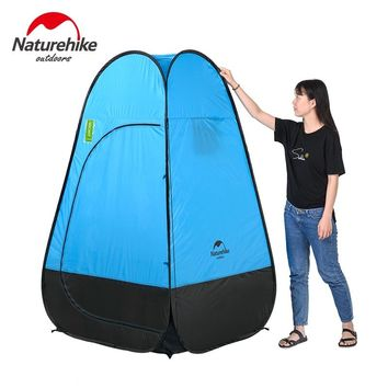 Naturehike camping tent Quick Automatic Opening Washing Toilet Tent Fishing Restroom Portable Outdoor Tent Mobile bathroom