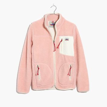 Madewell x Penfield® Lucan Pink Fleece Jacket : | Madewell