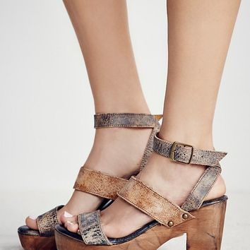 Free People Gold Coast Platform Clog