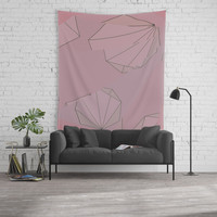 Shapes Shifted Wall Tapestry by duckyb