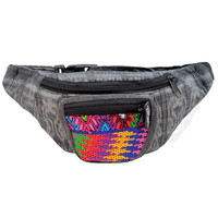 Hand Woven Brocade Waist Pack on Sale for $15.99 at HippieShop.com