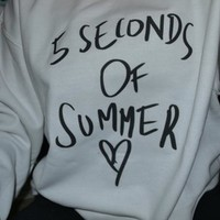 5SOS Crewneck from Teenage Apparel