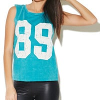 89 French Terry Tank | Wet Seal