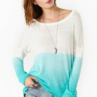 Chroma Fade Knit - Turquoise