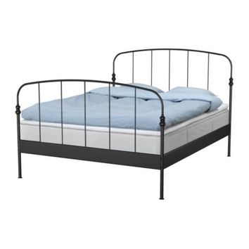 Lillesand Bed Frame Queen Ikea From Ikea Ikea