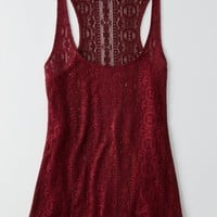 AEO Women's Lace Swing Tank