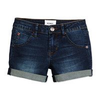 Rolled-Cuff Shorts, Rivington, Size 4-6X,
