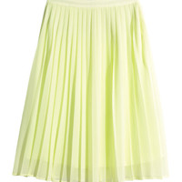 H&M Pleated Skirt $17.99