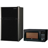 Walmart: Black & Decker 3.3-cu ft Refrigerator with RCA 1.1 cu ft Microwave Value Bundle