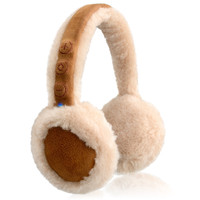 BT500 Snuggy Beats Bluetooth Earmuff Headphones with Mic (BROWN)