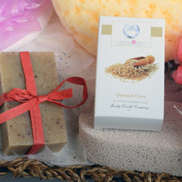 Oatmeal Clove Ring Soap  (Pick Your Ring Size)