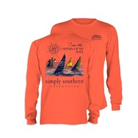 Palmetto Moon | Simply Southern Prep Captain Long Sleeve T-shirt | Palmetto Moon