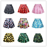best quality 2014 New women pleated skirt 3D digital print for girl hot selling high quality in stock hot selling-in Skirts from Women's Clothing & Accessories on Aliexpress.com | Alibaba Group
