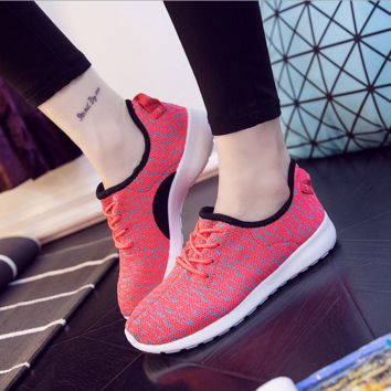 Red Sports Shoes for Women