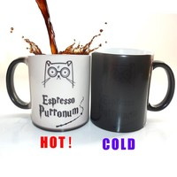 Purronom Magic Cat Color Changing Mug
