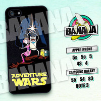 Adventure Time, Finn and Jake, Star Wars, iPhone 5 case, iPhone 5C Case, iPhone 5S case, Phone case, iPhone 4 Case, iPhone 4S Case,  AT04