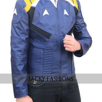 Chris Pine Star Trek Beyond Jacket - Available in All Sizes