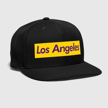 Los Angeles Reigns Squared Embroidered Customized Handmade California Raiders active casual Hip Hop Summer Cool Snapback hat