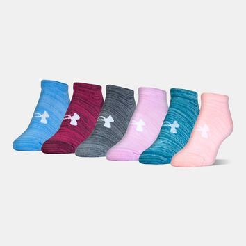 Women's UA Twist No Show Socks— 6-Pack | Under Armour US