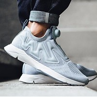 Best Online Sale Reebok Pump Supreme Engine Cable Grey/White BS7043 Fashion Shoes Snea