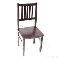 1/6 scale wooden Chair for dolls (Blythe, Barbie, Bratz,  Momoko).