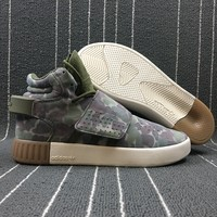 Best Online Sale Adidas Tubular Invader Strap Camo Camouflage Army Green Kanye West 750 Boost BB8393