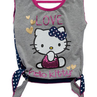 Hello Kitty Girls 2-6x Hello Kitty Tied Tee