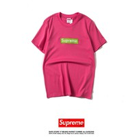 Cheap Women's and men's supreme t shirt for sale 85902898_0170