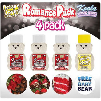 Nature Lovin' Romance Pack 4 Pack 1.7oz Each