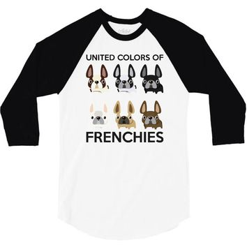 united color of frenchies 3/4 Sleeve Shirt
