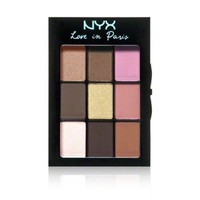 Nyx Cosmetics Love In Paris Eye Shadow Palette, Madeleines and Macaroons, 0.028 Ounce