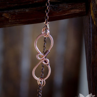 Infinity Copper Bracelet from A Single Dream