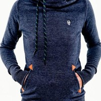 Long Sleeve Hoodie Shirt With Pocket