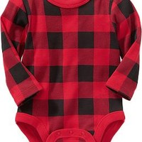 Long-Sleeved Bodysuits for Baby