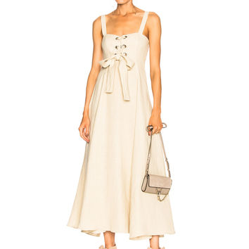 Mara Hoffman Mei Dress in Beige | FWRD