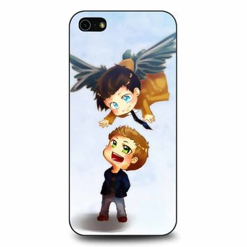 Supernatural Destiel Fanart iPhone 5/5s/SE Case