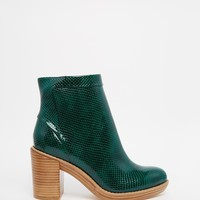ASOS END OF THE WORLD Ankle Boots at asos.com