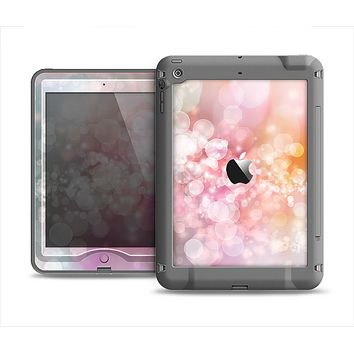 The Unfocused Pink Abstract Lights Apple iPad Air LifeProof Nuud Case Skin Set